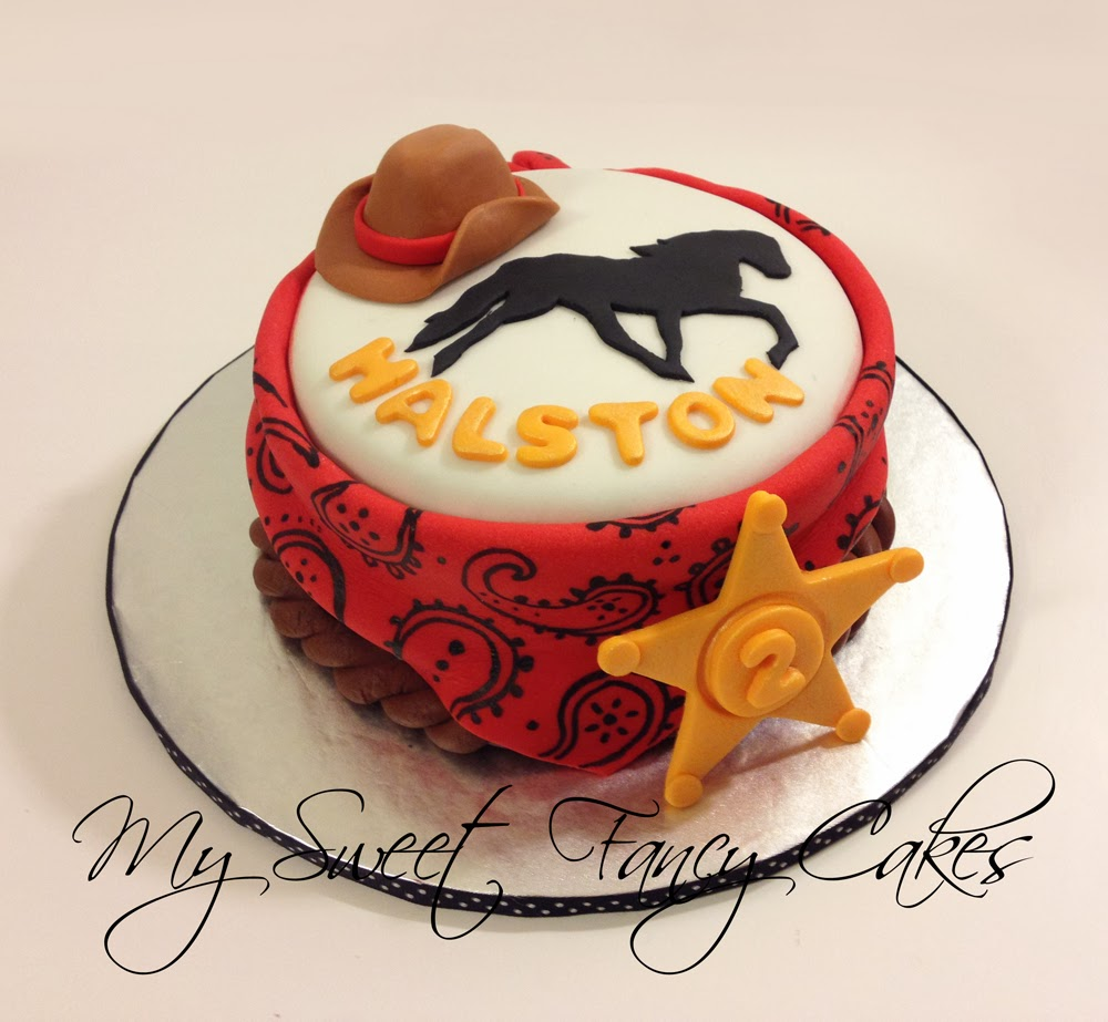 My Sweet Fancy Cakes Rodeo Cake