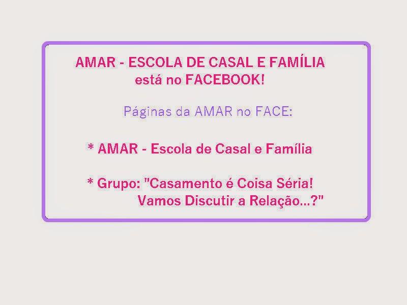 AMAR está no FACEBOOK!