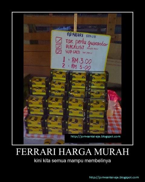 FERRARI HARGA MURAH