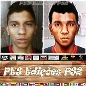 Face do Seguidor: Rodrigo Santos PES PS2