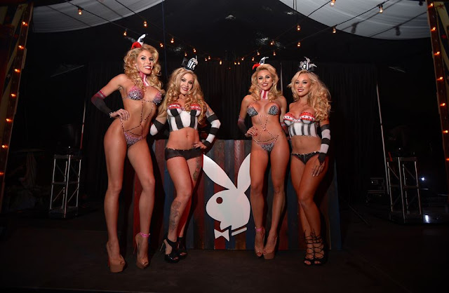 Fiesta Halloween en la Mansion Playboy