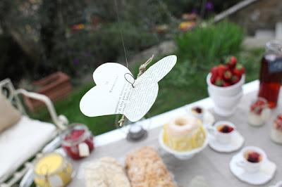 semplicemente perfetto shabby chic breakfast le chat de sucre farfalle