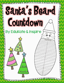 santa's beard countdown to christmas