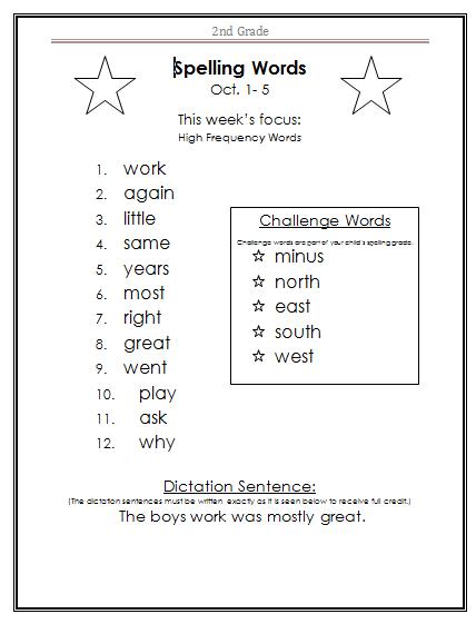 Fifth grade science test prep worksheets