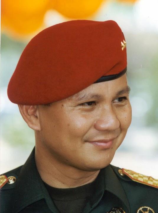 Danjen Kopassus... Prabowo Subianto