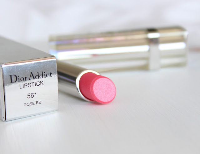 Dior Addict Rose BB lipstick, Dior Addict 561 lipstick swatches, Dior Addict 561 lipstick, Dior 561 lipstick swatches