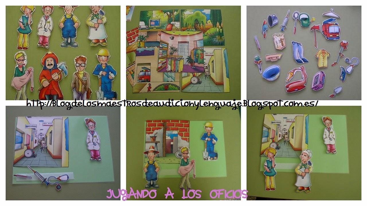 http://blogdelosmaestrosdeaudicionylenguaje.blogspot.com.es/2013/05/unidad-didactica-las-profesiones.html