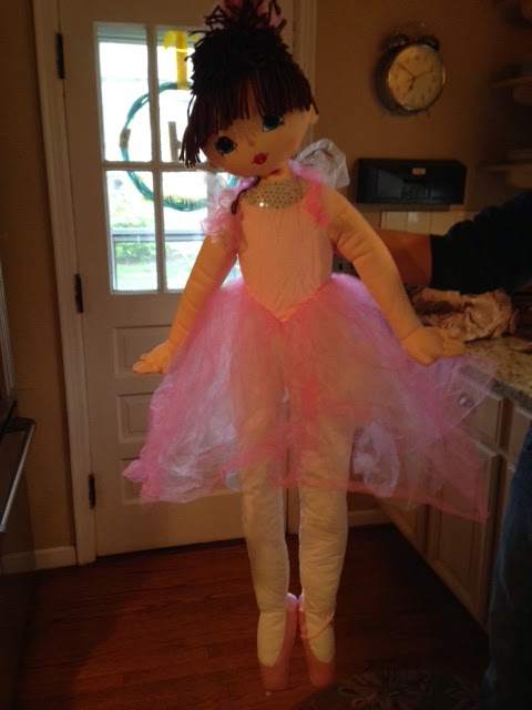 #big ballerina doll