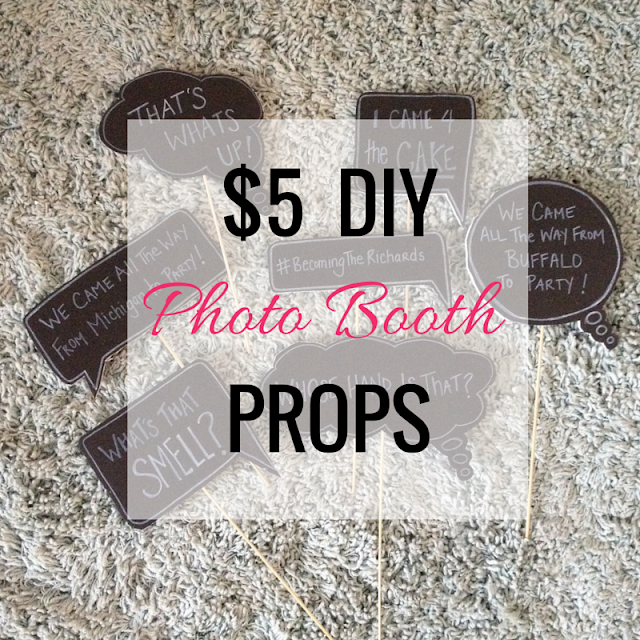 $5 DIY Photo Booth Props
