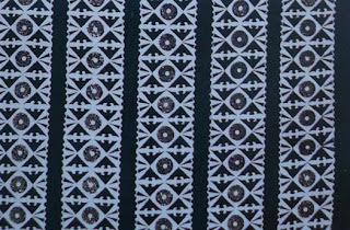 Batik Kalimantan tengah motif Repang Garantung