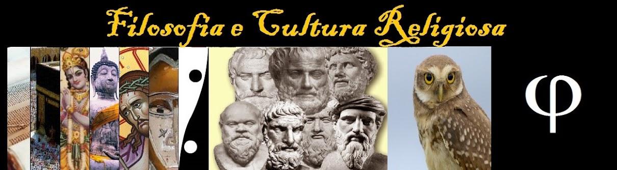 Filosofia e Cultura Religiosa