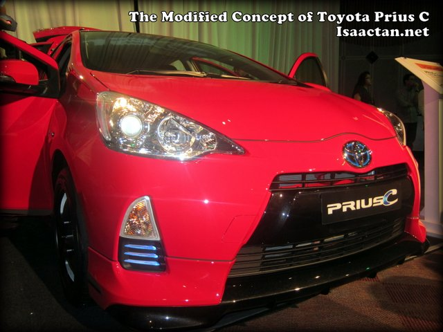 Modified Version of Toyota Prius C