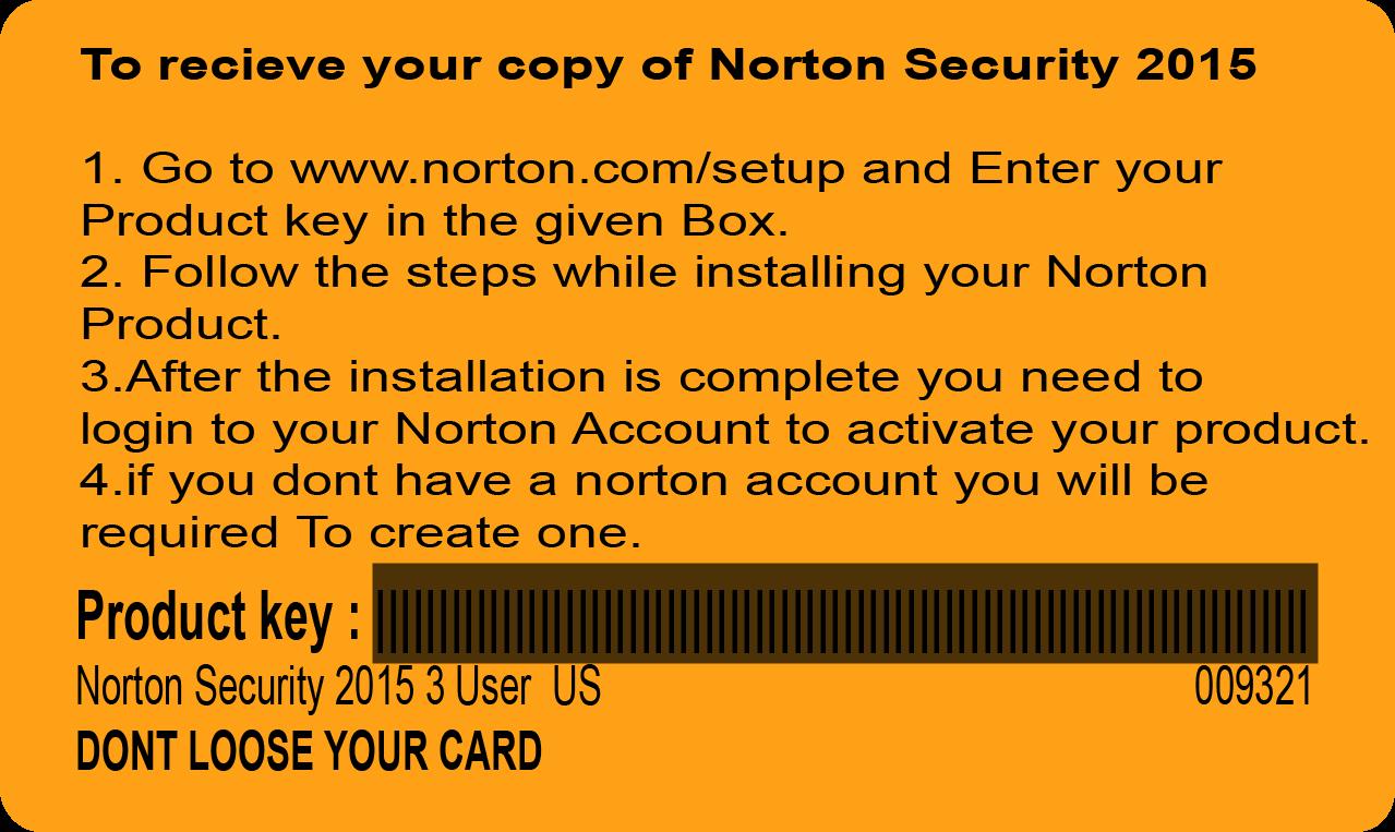 norton security 2015 product key