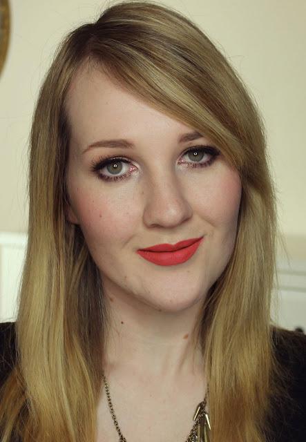 Darling Girl Pucker Paint Matte Lip Cream - Kismet lipstick swatches & review