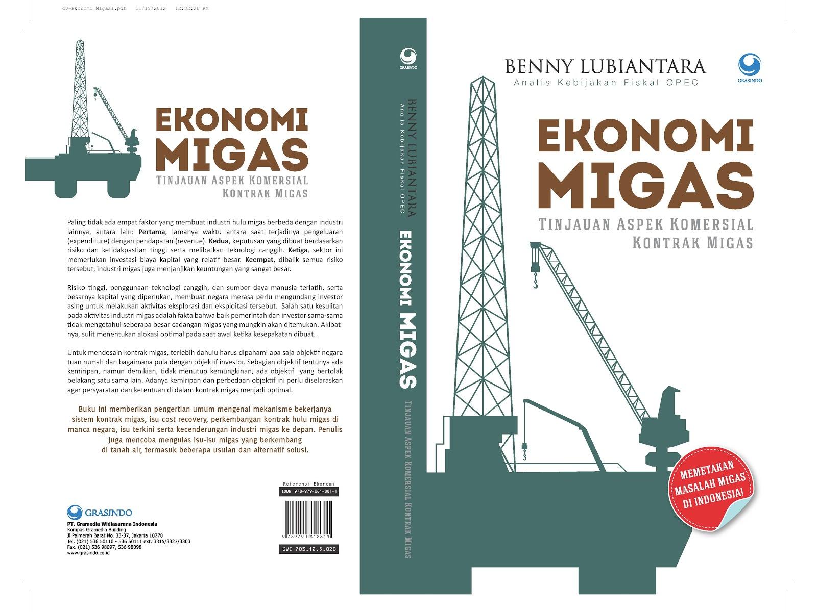 Buku: ekonomi migas