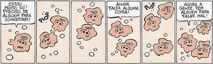 Fernando Gonsales: Niquel Nausea - amoebas.