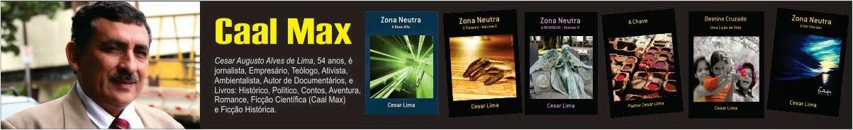 Caal Max, Autor de Ficção Científica, Ficção Histórica, Romance, Aventura, Documentários.