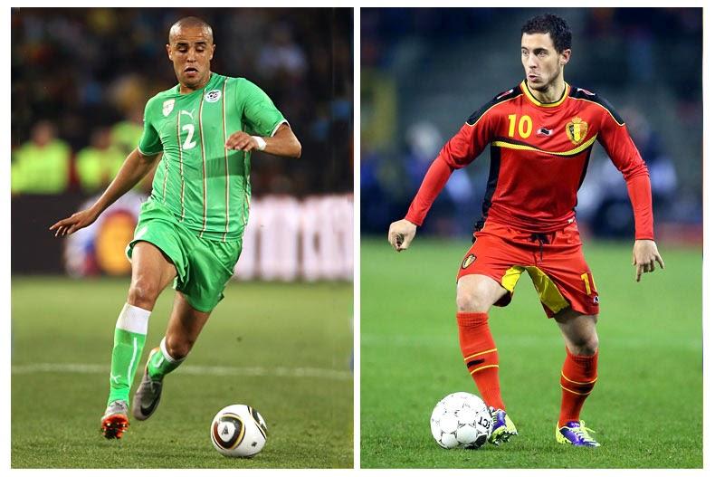 Belgia Menang Tipis 2-1 dari Aljazair