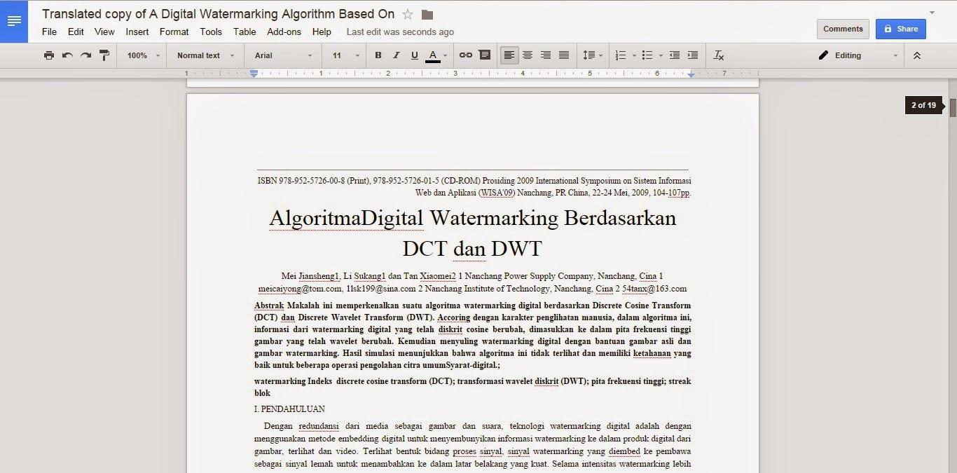 Coretan Admin - Cara Mentranslate PDF Bahasa asing ke bahasa indonesia