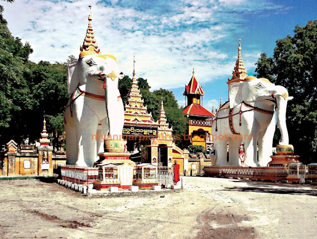 Thambuddhe Temple and Pagoda at Monywa