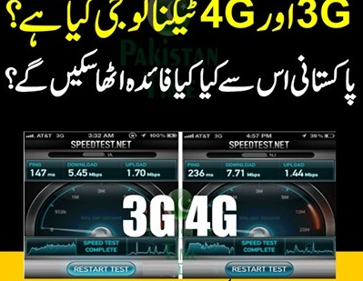 3G in pakistan
