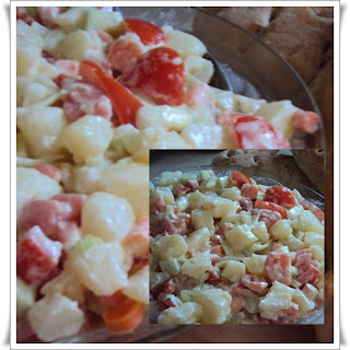 Potato salad, energy and liking for our children recipe