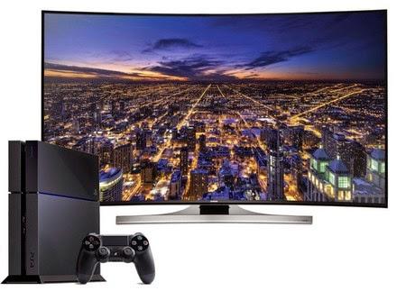 TiVi Samsung Smart  sẽ chơi được PlayStation không cần đầu chơi