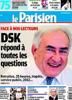 Strauss-Kahn aime le ski et les échecs © Le Parisien