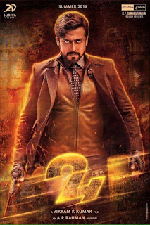 Suriya 24 Movie First Look Posters