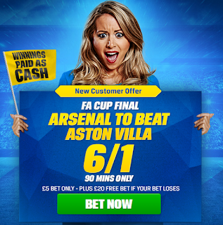 Massive offer on the FA Cup Final