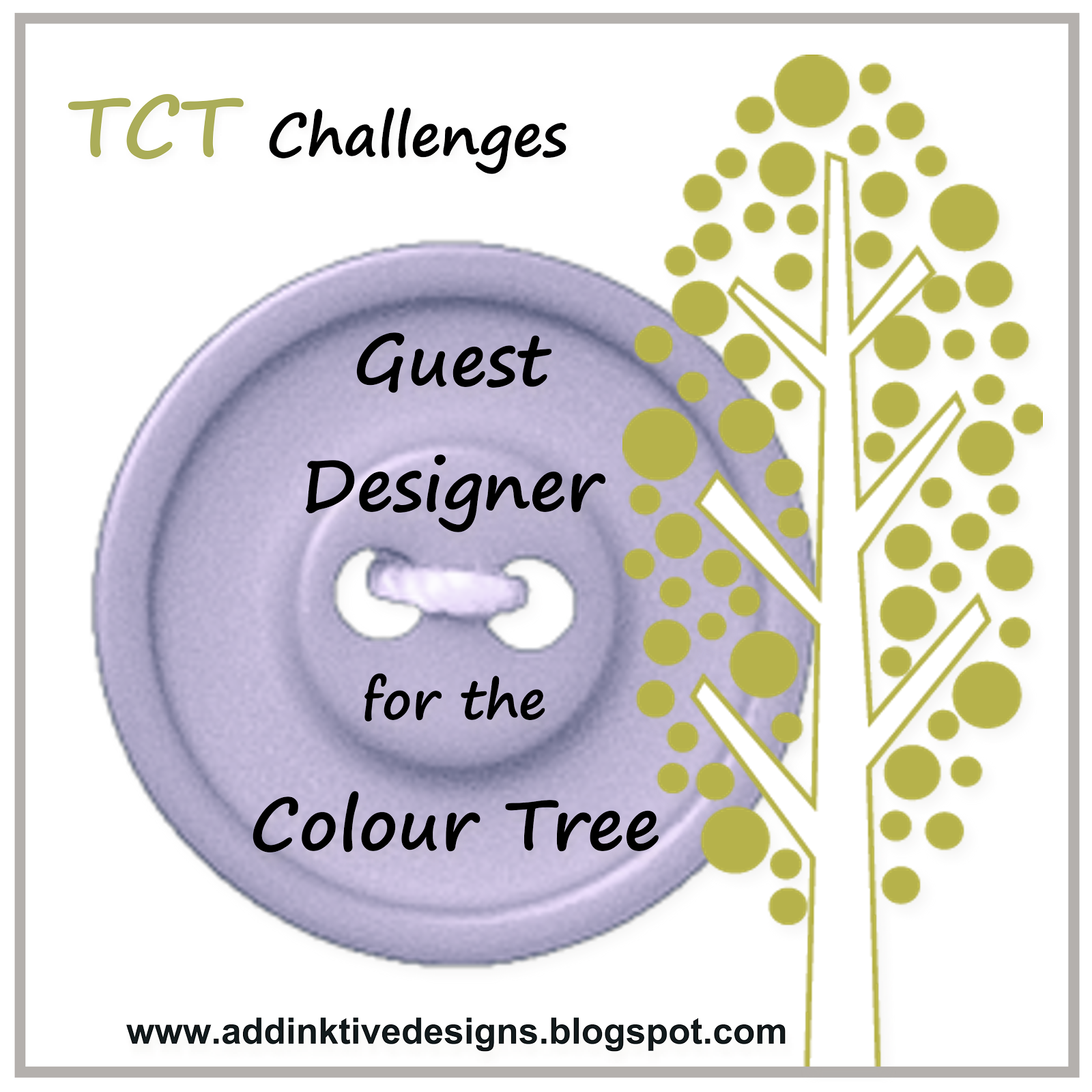 The Colour Tree Challenge Guest Designer