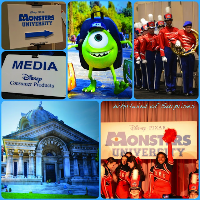 Monsters University Orientation, Press event, #MonstersUToyFair