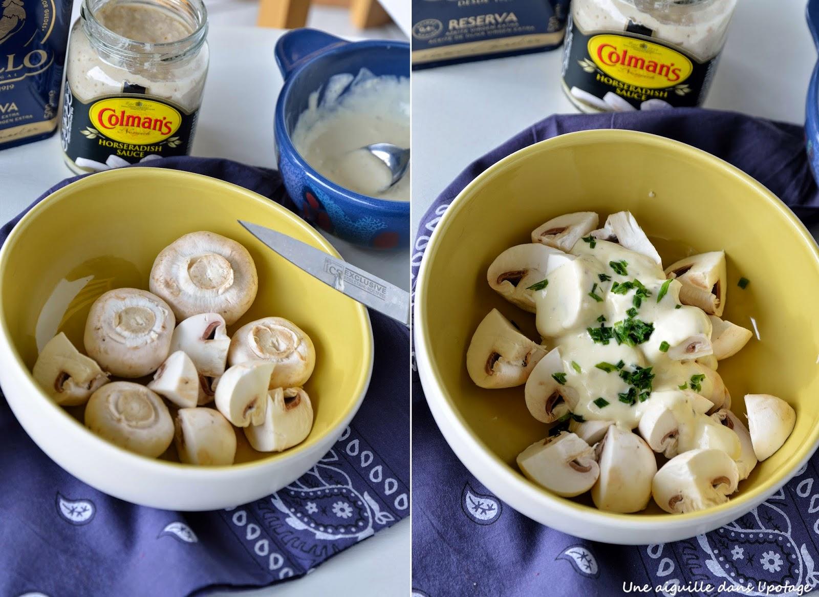 salade de champignon
