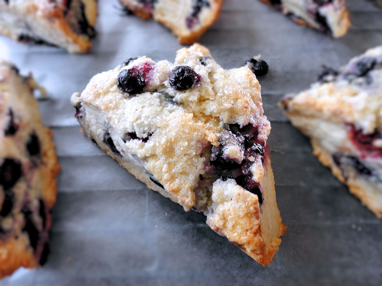 Can I interest you in something blueberry? These blueberry scones will ...