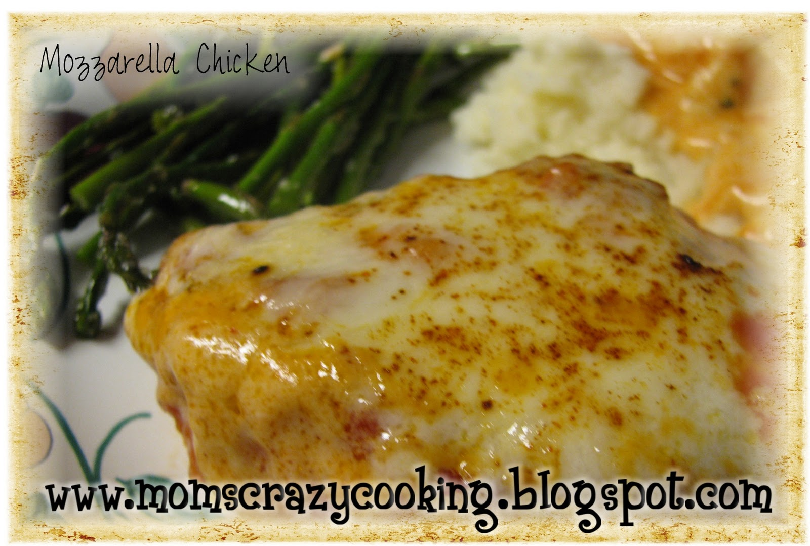 Mom's Mozzarella Chicken For Drew Recipe — Dishmaps