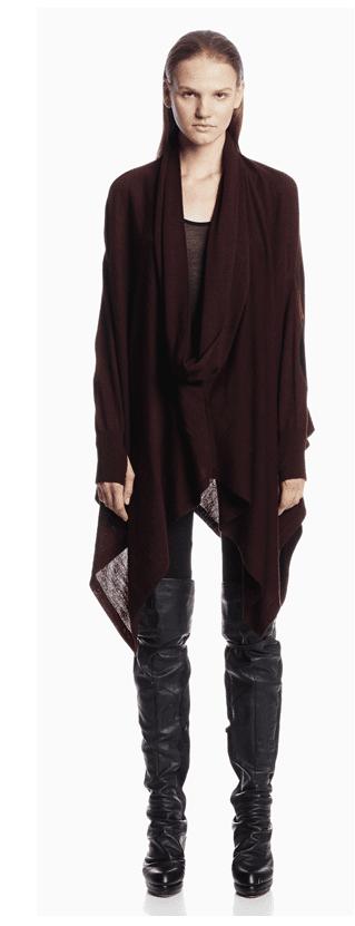 Serius Burgandy Sweater