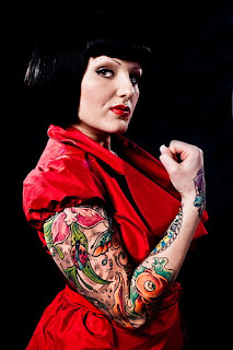 Tattooed Women | Tattooed Girls | Tattooed Lady | Tattooed Female | Tattoo Gallery