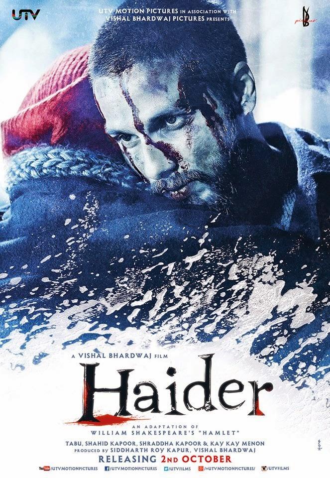 Haider (2014) Official Trailer - Shahid Kapoor, Shraddha Kapoor