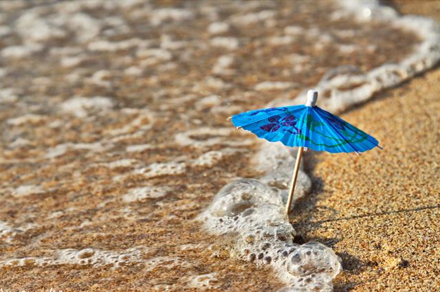 la sombrilla/ parasol