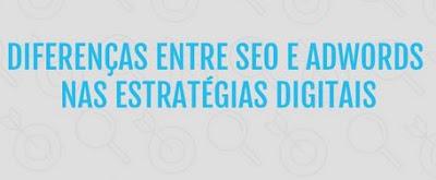 Diferenças entre SEO e Adwords nas estratégias digitais e divulgar site no Google