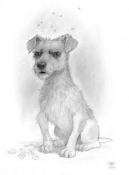 Gaspode The Wonder Dog by Paul Kidby