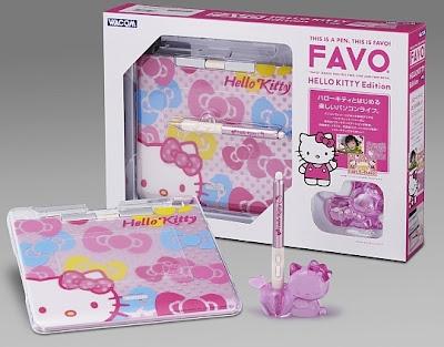 Hello Kitty Wacom Favo tablet