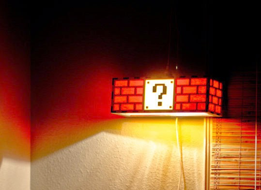 Question Block Night Light From Etsy, £42.23 Plus Shipping