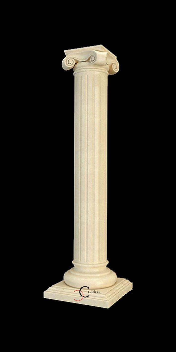 Coloane polistiren personalizate pe orice dimensiune, coloane ionice romane, coloane canelate
