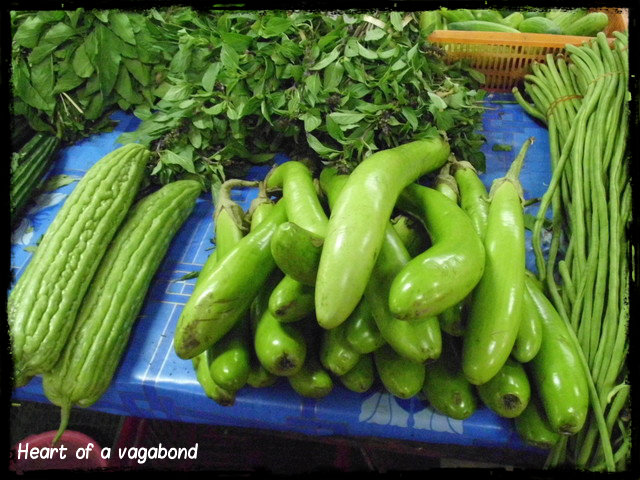 vegetables and fruit in thailand