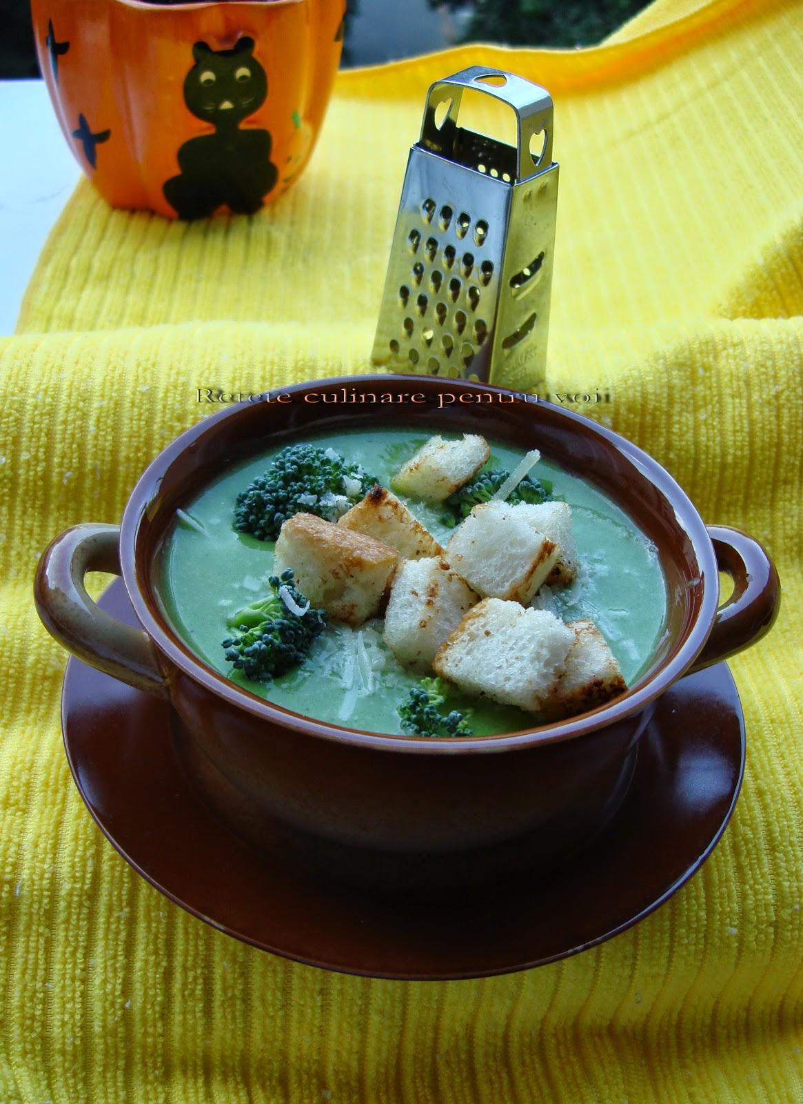 supa crema de broccoli adi hadean