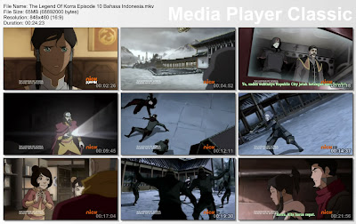 "DOWNLOAD FILM / ANIME AVATAR: THE LEGEND OF KORRA EPISODE 10 ""MEMBALIKKAN KEADAAN"" BAHASA INDONESIA"