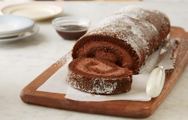 Resepi Kek Gulung Coklat