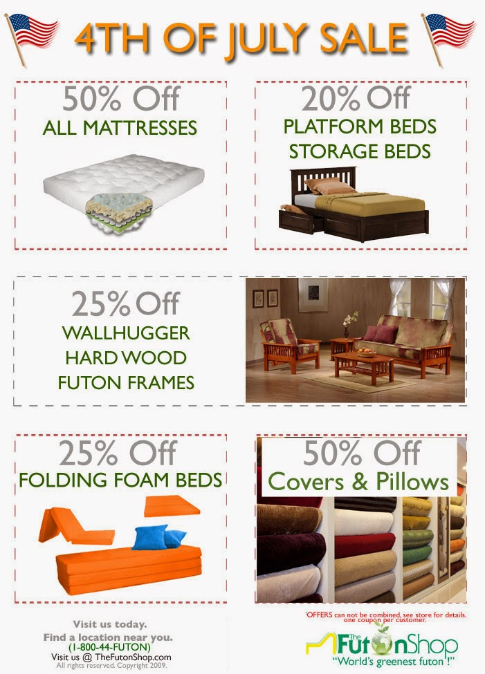 4th of July Futon Sale