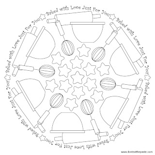 Baking Mandala